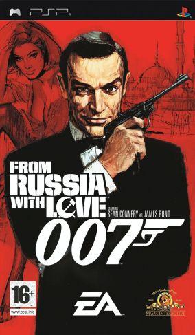 Copertina del gioco 007: Dalla Russia con Amore per Playstation PSP