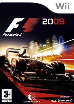 Copertina del gioco F1 2009 per Nintendo Wii