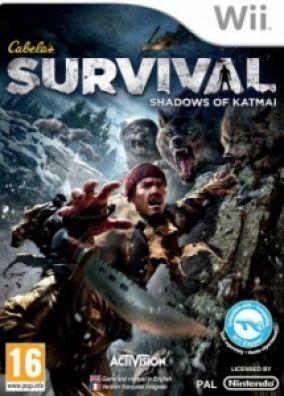 Copertina del gioco Cabela's Survival: Shadows of Katmai per Nintendo Wii
