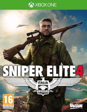 Immagine della copertina del gioco Sniper Elite 4 per Xbox One