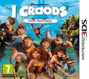 Copertina del gioco I Croods: Festa Preistorica per Nintendo 3DS