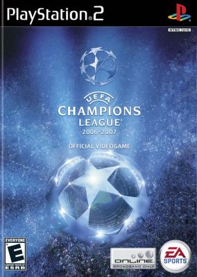 Copertina del gioco UEFA Champions League 2006-2007 per Playstation 2