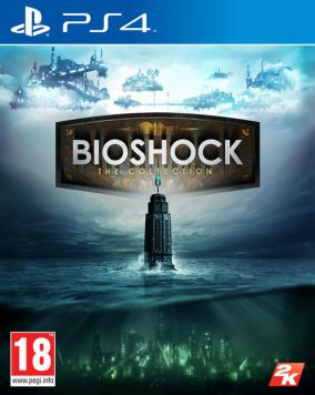 Copertina del gioco Bioshock: The Collection per Playstation 4