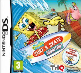 Copertina del gioco SpongeBob: Surf & Skate Roadtrip per Nintendo DS