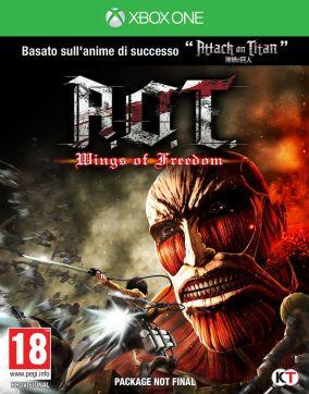Immagine della copertina del gioco Attack on Titan: Wings of Freedom per Xbox One
