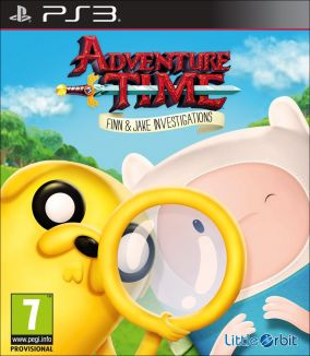 Copertina del gioco Adventure Time: Finn e Jake detective per Playstation 3