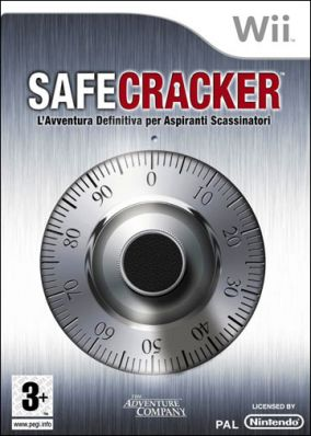 Copertina del gioco Safecracker per Nintendo Wii