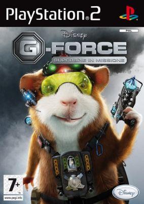 Copertina del gioco G-Force per Playstation 2