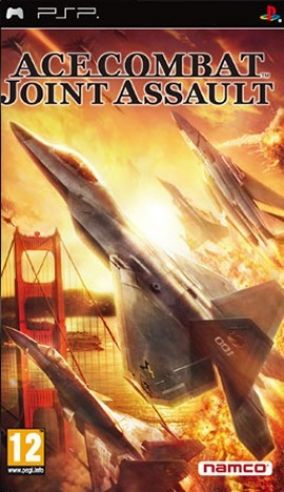 Copertina del gioco Ace Combat Joint Assault per Playstation PSP