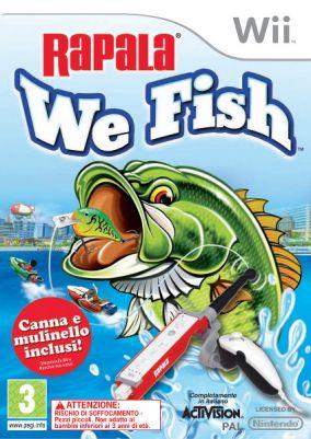Copertina del gioco Rapala: We Fish per Nintendo Wii