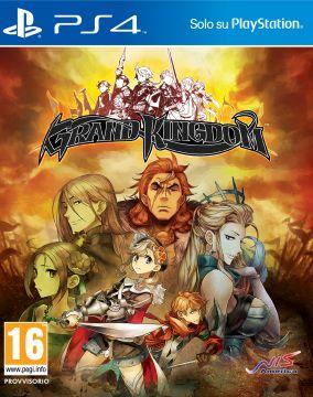 Immagine della copertina del gioco Grand Kingdom per Playstation 4