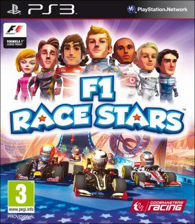 Copertina del gioco F1 Race Stars per Playstation 3