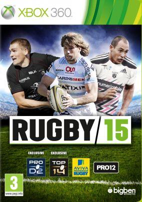 Copertina del gioco Rugby 15 per Xbox 360