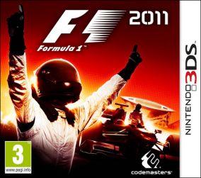 Copertina del gioco F1 2011 per Nintendo 3DS