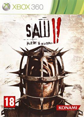 Copertina del gioco SAW II: Flesh & Blood per Xbox 360