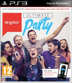 Copertina del gioco SingStar: Ultimate Party per Playstation 3