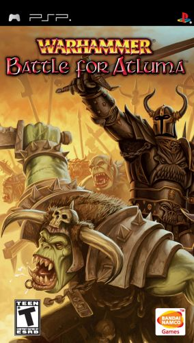 Copertina del gioco Warhammer Warcry: Battle for Atluma per Playstation PSP