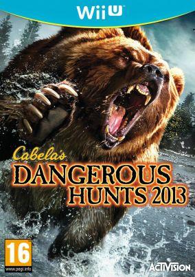 Copertina del gioco Cabela's Dangerous Hunts 2013 per Nintendo Wii U