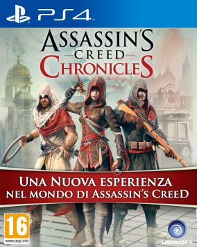 Copertina del gioco Assassin's Creed Chronicles Trilogy Pack per Playstation 4