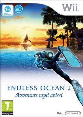 Copertina del gioco Endless ocean 2 Avventure Negli Abissi per Nintendo Wii
