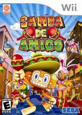 Copertina del gioco Samba de Amigo per Nintendo Wii
