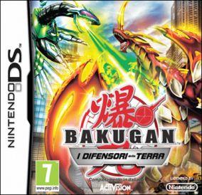 Copertina del gioco Bakugan Battle Brawlers: I Difensori della Terra per Nintendo DS