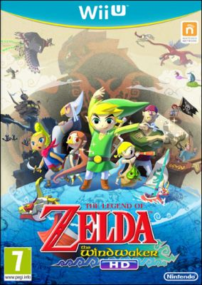 Copertina del gioco The Legend of Zelda: The Wind Waker HD per Nintendo Wii U