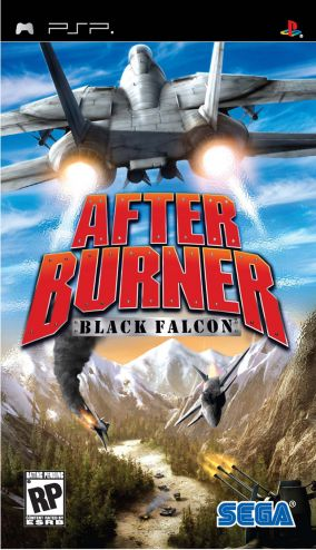 Copertina del gioco After Burner Black Falcon per Playstation PSP