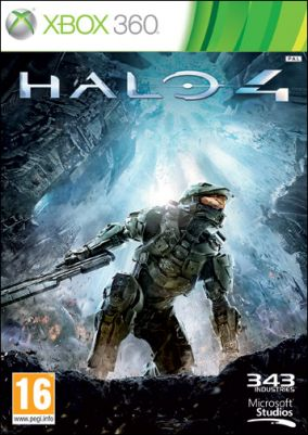 Copertina del gioco Halo 4 per Xbox 360
