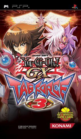Copertina del gioco Yu-Gi-Oh! GX Tag Force 3 per Playstation PSP