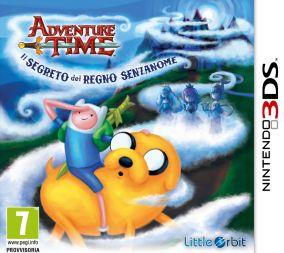 Copertina del gioco Adventure Time: Il segreto del Regno Senzanome per Nintendo 3DS