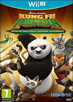 Copertina del gioco Kung Fu Panda: Scontro finale delle leggende leggendarie per Nintendo Wii U