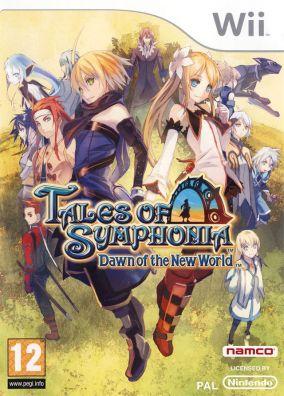 Copertina del gioco Tales of Symphonia: Dawn of the New World per Nintendo Wii