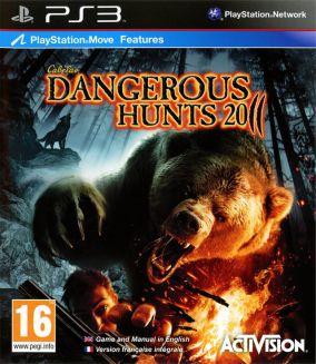 Copertina del gioco Cabela's Dangerous Hunts 2011 per Playstation 3
