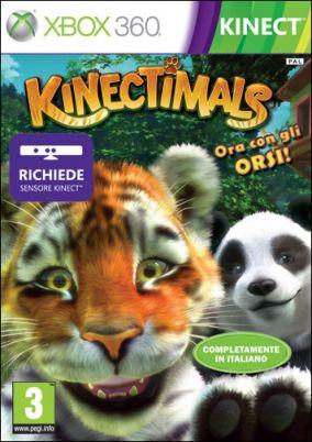 Copertina del gioco Kinectimals Ora con gli orsi per Xbox 360