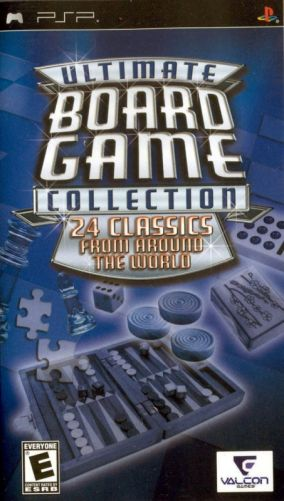 Copertina del gioco Ultimate Board Game Collection per Playstation PSP