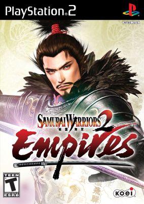 Copertina del gioco Samurai Warriors 2: Empires per Playstation 2