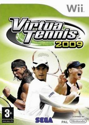Copertina del gioco Virtua Tennis 2009 per Nintendo Wii
