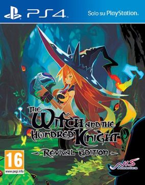 Copertina del gioco The Witch and the Hundred Knight per Playstation 4