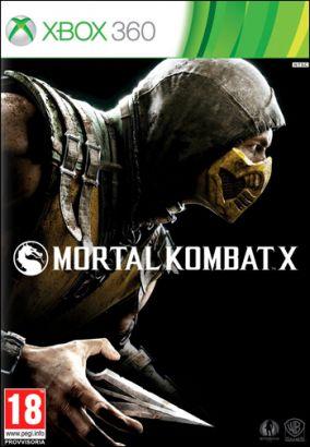 Copertina del gioco Mortal Kombat X per Xbox 360