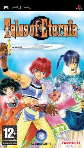 Copertina del gioco Tales of Eternia per Playstation PSP
