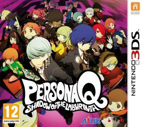 Copertina del gioco Persona Q: Shadow of the Labyrinth per Nintendo 3DS