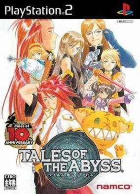 Copertina del gioco Tales of the Abyss per Playstation 2