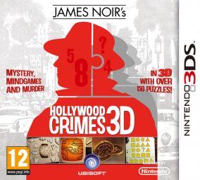 Copertina del gioco James Noir's Hollywood Crimes per Nintendo 3DS