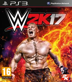 Copertina del gioco WWE 2K17 per Playstation 3