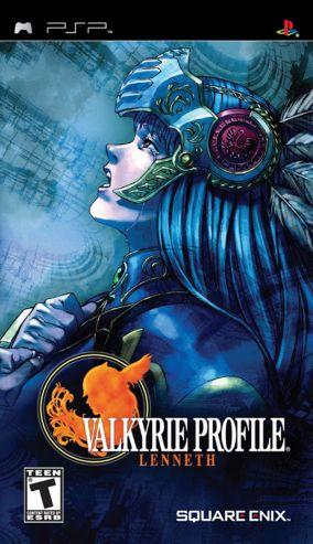 Copertina del gioco Valkyrie Profile: Lenneth per Playstation PSP