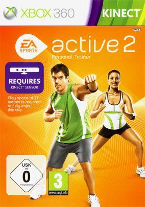 Copertina del gioco EA Sports Active 2 per Xbox 360