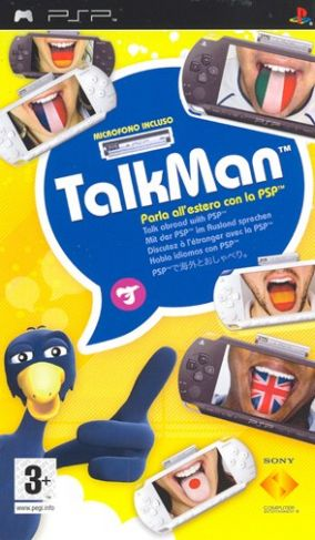 Copertina del gioco TalkMan per Playstation PSP