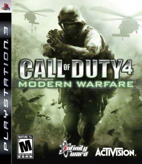 Copertina del gioco Call of Duty 4 Modern Warfare per Playstation 3