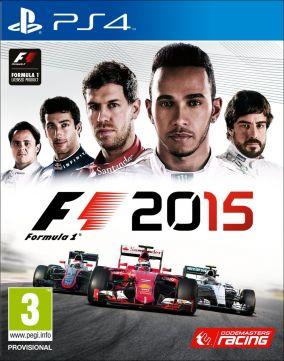Copertina del gioco F1 2015 per Playstation 4